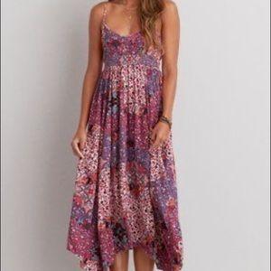 American Eagle Boho maxi dress small